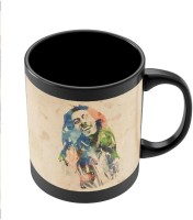 PosterGuy Bob Marley Digital Art Painting Ceramic Mug (280 Ml)