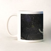 Shoperite Football Kick In Rain Ceramic Mug (300 Ml)
