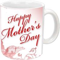 Jiyacreation1 Lovely Design For Mother's Day White Ceramic Mug (3.5 Ml)