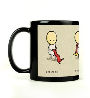 Shoperite Get Cape And Fly Ceramic Mug (300 Ml)