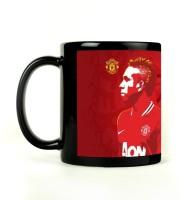 Shoprock Anderson ManU Mug (Black, Pack Of 1)