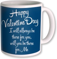 Photogiftsindia Happy Valentine Day Gifts For Girlfriend Mug (White, Pack Of 1)