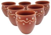 TG's TC115 Ceramic Mug (400 Ml, Pack Of 6)