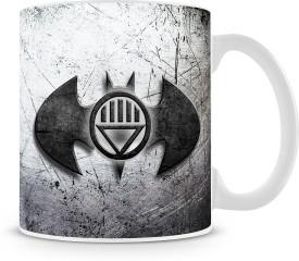Saledart MG1170- Blackest Night Batman Logo Ceramic Mug