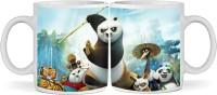 SBBT Kung Fu Panda Ceramic Mug (350 Ml)