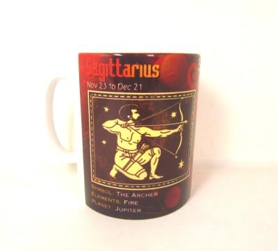 Artycrafts Sagittarius,  Ceramic Mug