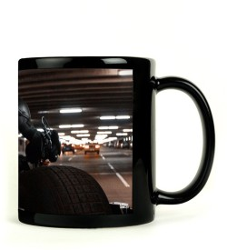 RangeeleShope Batman Bike Ceramic Mug
