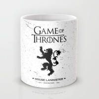 Astrode Game Of Thrones House Lannister 04 Ceramic Mug (325 Ml)