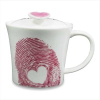 Archies Love Is Simple  With Lid Ceramic Mug (325 Ml)