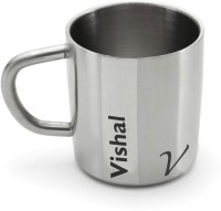 Hot Muggs Me Classic  - Vishal Stainless Steel Mug (200 Ml)