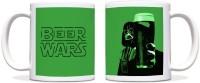 ShopMantra Beer Wars Black Ceramic Mug (300 Ml)