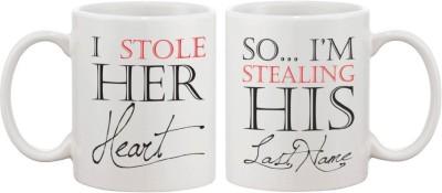 Fantaboy Stealing His Last Name for Newlywed Ceramic Mug