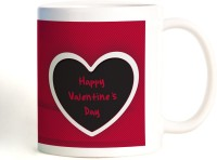 ShopMantra No Remedy For Love Valentine's Day Mug (White, Pack Of 1)