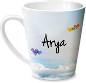 Hot Muggs Simply Love You Arya Conical  Ceramic Mug