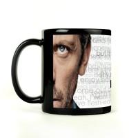 Shoprock Everybody Lies Mug (Black, Pack Of 1)