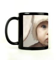 Shoprock Cute Baby Mug (Black, Pack Of 1)