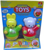 Shoplorry Simulating Musical Teddy Shaped Toy (Red, Green)