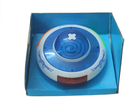SILTASON SHAKTI UFO MUSICAL TOY (White, Blue)
