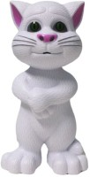 CY Intelligent Touch Talking Tom Cat Toy With Recording (White)