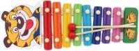 Saleonindia Cute Tiger Xylophone (Multicolor)