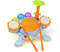 Buddy Fun Electronic Frog Drum Beat Set (Multicolor)
