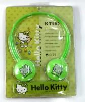 Big Bunny Hello Kitty Headphones (Green)