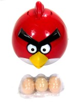 New Pinch Funny Musical Lays Eggs Light Sound Battery Operated Toy (Multicolor)