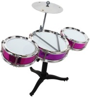 Tickles Jazz Drum Set For Kids Drummer Boy Girl Musical Toy Gift (Multicolor)