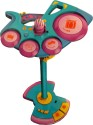 AdraxX Versatile Drums, Guitar And Karaoke Music Toy - Multicolor