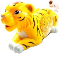 Nit N Kit World Of Zoo Funny Tiger With Music And Flash Light (Multicolor)