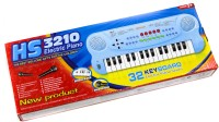 ToyTree 32 Key Electric Paino With Mic (Blue, Black)