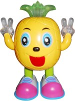 Littlegrin Musical Instruments & Toys Littlegrin Musical Cartoon Dancing & Walking Pineapple With Colorful Lights Gift Toy For Kids