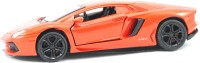 Littlegrin Lamborghini Die Cast Metal Model Car 1 32 Scale With Head Lights Gift Toy (Red) (Red)