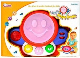 Turban Toys Happy Baby Finger Drum With Light & Sound