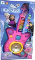 Ayaan Toys Musical Magic Guitar (Pink)