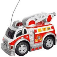 Toystate Road Rippers Preschool Radio Control Rush And Rescue: Fire Ladder Truck (Multicolor)