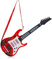 New Pinch Battery Operated Musical Guitar With Light And Sound (Multicolor)