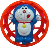 Parteet Doraemon With Circling Fuction Accompanied With Flashing Lights And Music For Kids (Multicolor)