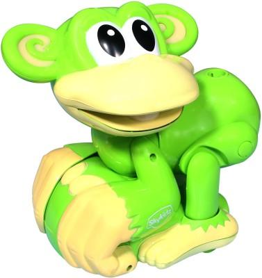 Mitashi SkyKidz Ring-o-Monkey Musical Toy (Green)