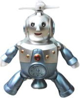 New Pinch Dancing Robot Musical Toy (Grey)