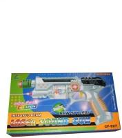 Ktkashish Toys Kashish Lager Sound Gun . (Green)