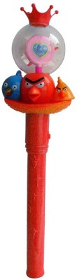 Shoplorry Musical Instruments & Toys Shoplorry Red Color Angry Birds Musical Flash Torch