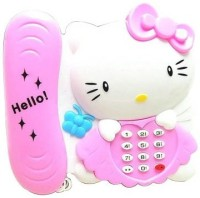 Baby World Hello Kitty Music Phone (Pink, White)
