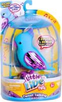 Winning Moves S3 Bird Single Pack Rockin'Ricky - Little Live Pets (Blue, Purple)