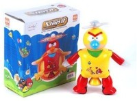 Shop & Shoppee Angry Bird Dancing Robot Toy (Yellow, Red)