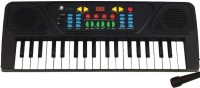 A R ENTERPRISES MUSICAL BLACK PIANO WITH MIKE (Black)