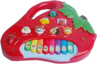 ETPL Strawberry Shape Animal Sound Piano (Multicolor)