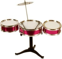 Tara Lifestyle Jazz Drum Sets For Kids Pink (Pink)