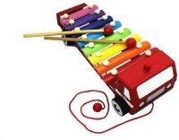 Shopat7 Fire Brigade Shape Xylophone (Multicolor)