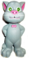 Bornify Musical Talking Tom With Touch Sensitive And Recording (Grey)